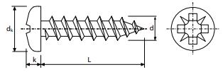 DIN 7505-B c alomada